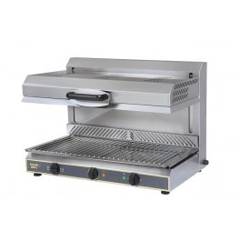 Roller Grill SEM800VC-PDS Grill with Adjustable Top & Vitroceramic Glass Elements