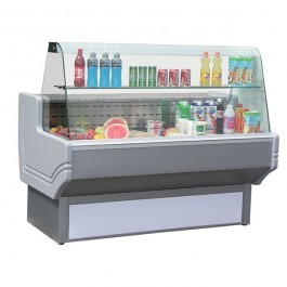 Blizzard SHAD80-200 Serve Over Counter with Curved Display & Granite Shelf