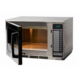 Sharp R22AT Heavy Duty Programmable Microwave with Touch Controls