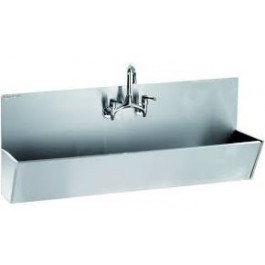Parry SCRUB1200 stainless steel scrub sink