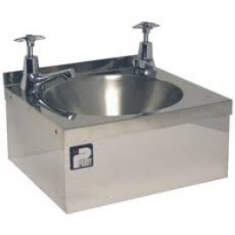 Parry CWBHANDI Stainless Steel Hand Wash Basin with Taps