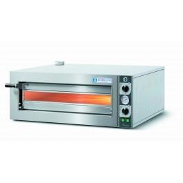 Cuppone LLKTZ6201S Tiziano Single Deck Electric Slimline Pizza Oven