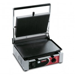 Sirman CORT LR T Large Single Ribbed Top & Flat Bottom Panini Grill