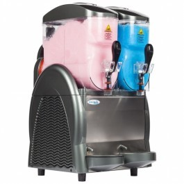 Interlevin SL2 Twin Bowl Slush Dispenser