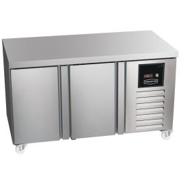Sterling Pro Green SNI-7-135-20-SP Twin Cabinet Plain Top Freezer - 290 litres