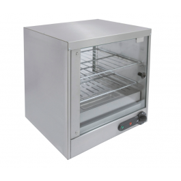Parry SPC/G Electric Heated Pie Cabinet with 2 Chrome Shelves