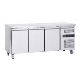Sterling Pro Cobus SPCR300P Three Door Refrigerated Counter - 417 Litres