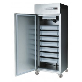 Sterling Pro SPF-071 Upright Fish Storage Cabinet with 7 Fish Boxes