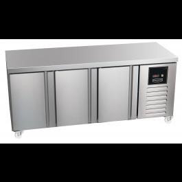 Sterling Pro Green SPI-7-180-30-SP Triple Counter Plain Top Fridge- 452 Litre