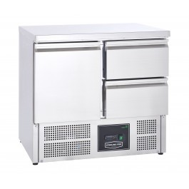 Sterling Pro Cobus SPU201-2D Two Drawers & One Door Refrigerated Counter