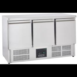 Sterling Pro Cobus SPU303 Three Door Refrigerated Undermounted Counter