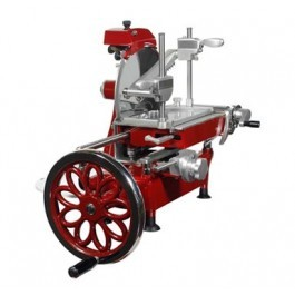 """FAC Volano LLK250VOL 10"""" Hand Operated Cooked Meat Slicer"""