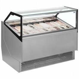 ISA Millennium STD16 Ventilated Scoop Ice Cream Display Unit