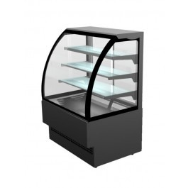 Sterling Pro EVO180 Black Curved Glass Patisserie Counter