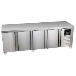 Sterling Pro Green SPI-7-225-40 Four Door Refrigerated Counter - GSPP7-225-40