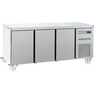 Sterling Pro SPP-7-180-30-SPCIR Three Door Fridge Counter