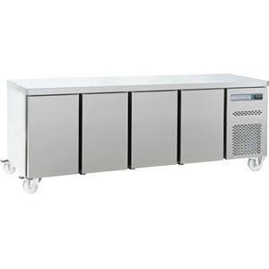 Sterling Pro Green SPP-7-225-40 Four Door Refrigerated Counter - SPP-7-225-40-SPCIR