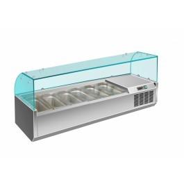 Prodis EC-T12G Glass Lid Topping Unit