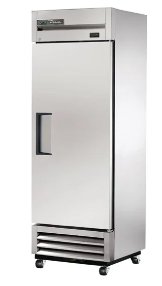 True T-19F-HC Upright Stainless Steel Freezer