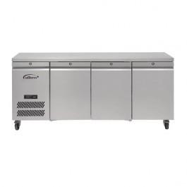 --- WILLIAMS HJC3-SA --- Jade Three Door Counter GN 1/1 Refrigerator