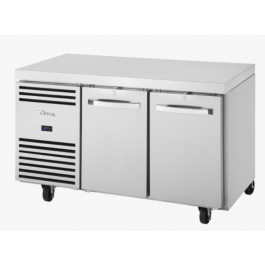 True TCF1/2-CL-SS-DL-DR Two Door Counter GN 1/1 Freezer