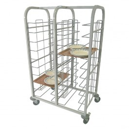 Craven TCT2/10 Double Column 20 Tray Self Epoxy Clearing Trolley