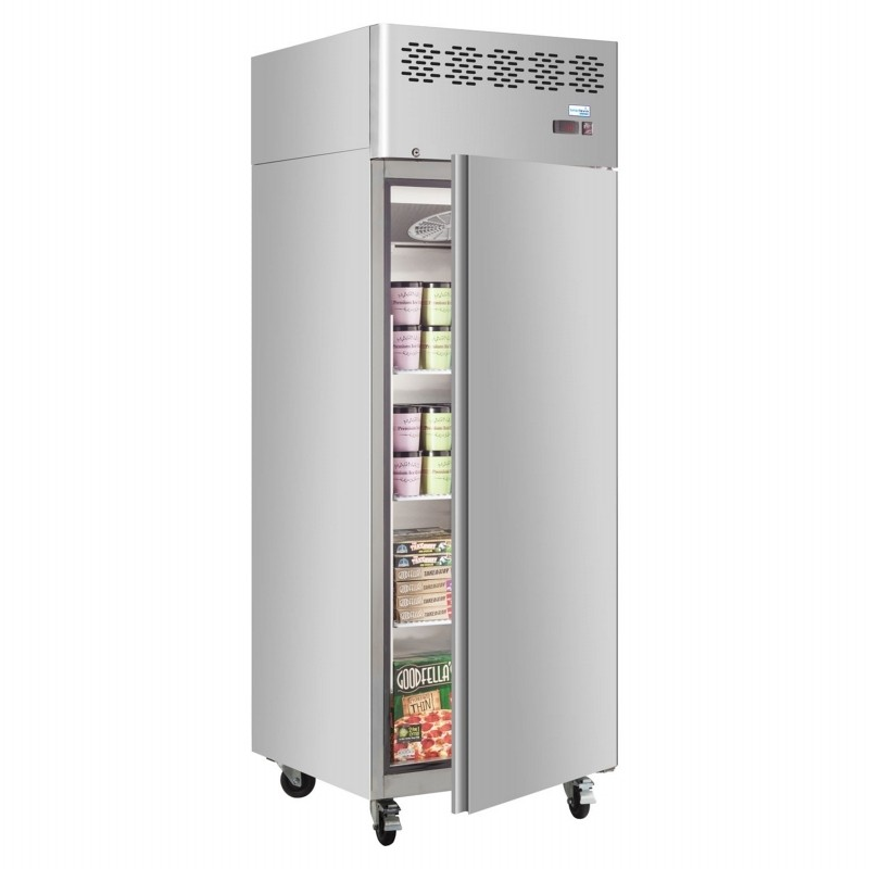 IInterlevin CAF650 Stainless Steel Gastronorm Upright Freezer