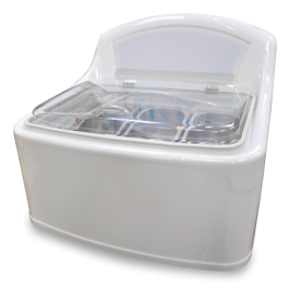 Vestfrost TG3 Table Top Ice Cream Display Freezer for 3 Napoli Containers