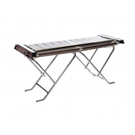 Cinders FESTIVAL TG160F Low Pressure Stainless Steel Barbeque for Tented Areas