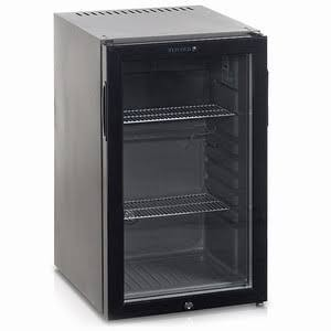Tefcold TM52G Black Minibar with Glass Door