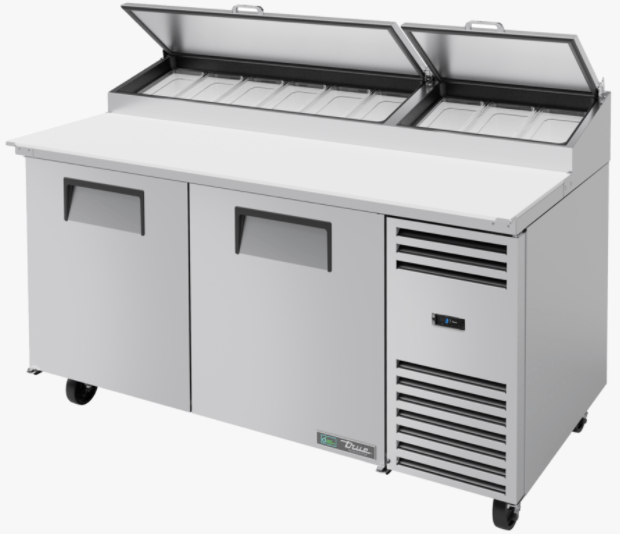 True TPP-AT- 67-HC Refrigerated Pizza Prep Table