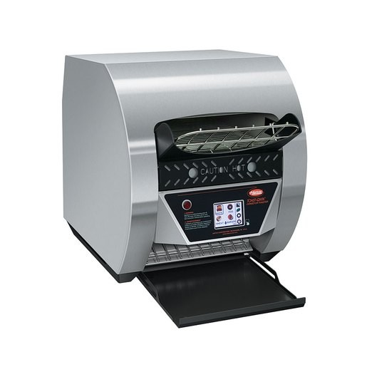 Hatco TQ3-500-SS Stainless Steel Toast-Qwik Conveyor Toaster with Touchscreen