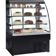 Trimco ZURICH II 120 Black Patisserie Display Cabinet