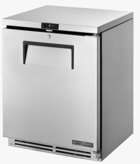 True TUC-24-HC Single Door Under Counter Refrigerator