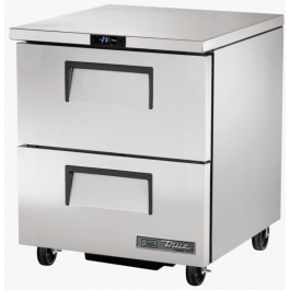 True TUC-27F-D-2-HC Two Drawer Under Counter Freezer