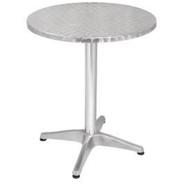 Bolero U425 Aluminium & Stainless Steel Round Bistro Table - 600mm
