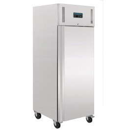 Polar U633 Stainless Steel Single Door Upright Freezer