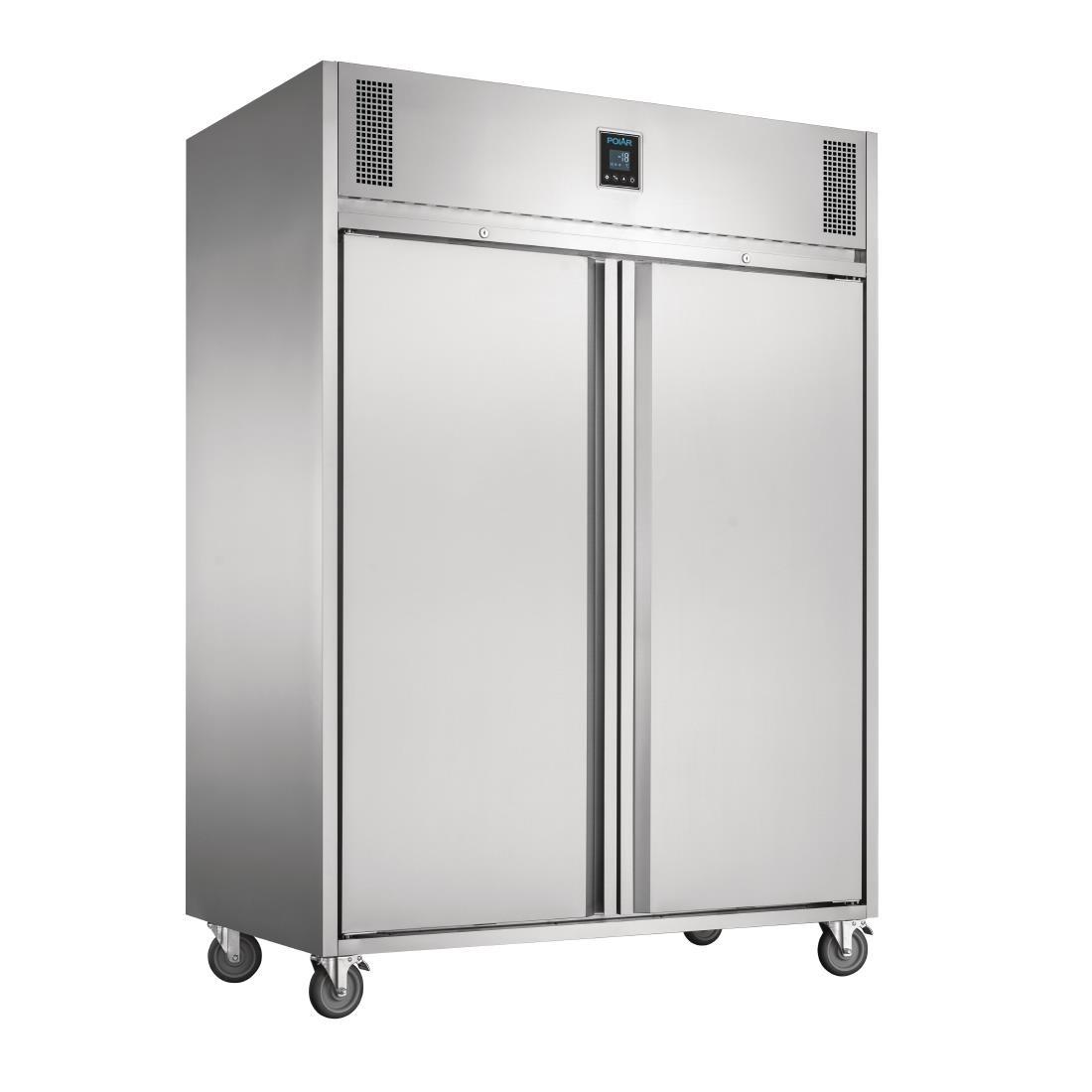 Polar UA004 U-Series Premium Double Door Freezer - W1400