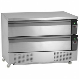 Tefcold UD2-3 Uni-Drawer 2 Range Dual Temperature Gastronorm Counter