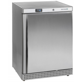 Tefcold UF200S Single Door Upright Stainless Steel Freezer with Static Cooling