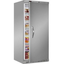 Tefcold UF550SB Upright Solid Door Stainless Steel Freezer