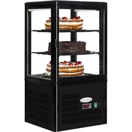 Tefcold UPD60 Refrigerated Glass Display Case 3