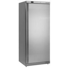 Tefcold UR600 Solid Door Upright Stainless Steel Refrigerator