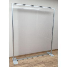 VKF Transparent PVC Stretch Frame Partition Wall W1700mm - 15.0219.148