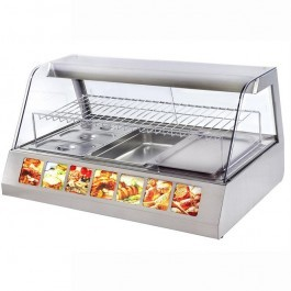 Roller Grill VVC1200 Countertop Heated Display