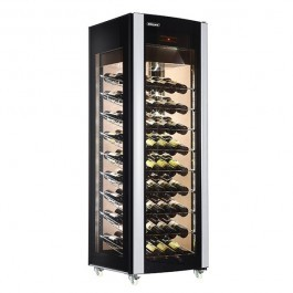 Blizzard WD400 Upright Wine Cooler with Four Triple Glazed Panels