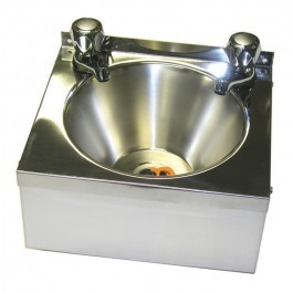 --- BLIZZARD WHB --- Stainless Steel Wash Basin with Taps & Plug