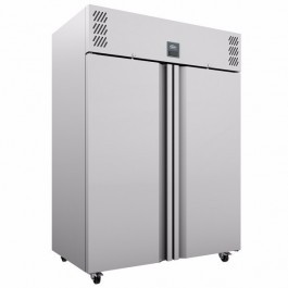 Williams MJ2-SA Jade Upright Top Mounted GN 2/1 Twin Meat Refrigerator