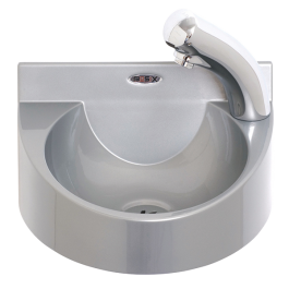 --- MECHLINE WS1-NT --- Battery Operated Wash Station with Manual Mixer