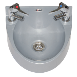--- MECHLINE WS1-TX-BL --- Hand Wash Station with AquaTechnix Lever Taps